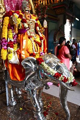 Sri Veeramakaliamman Temple © Louise Hawson
