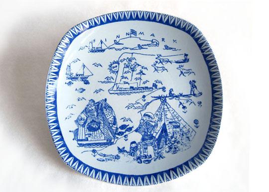 Finmark, plate by Kari Nyqvist for Stavangerflint