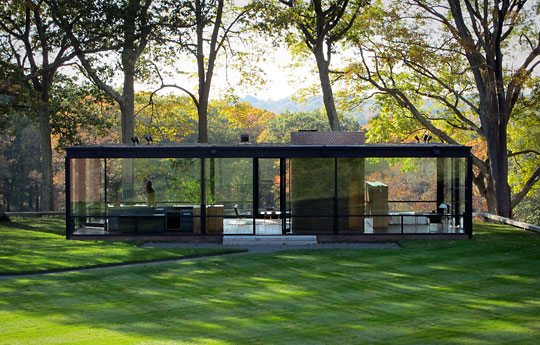 That Modern Feeling Philip Johnson S Glass House