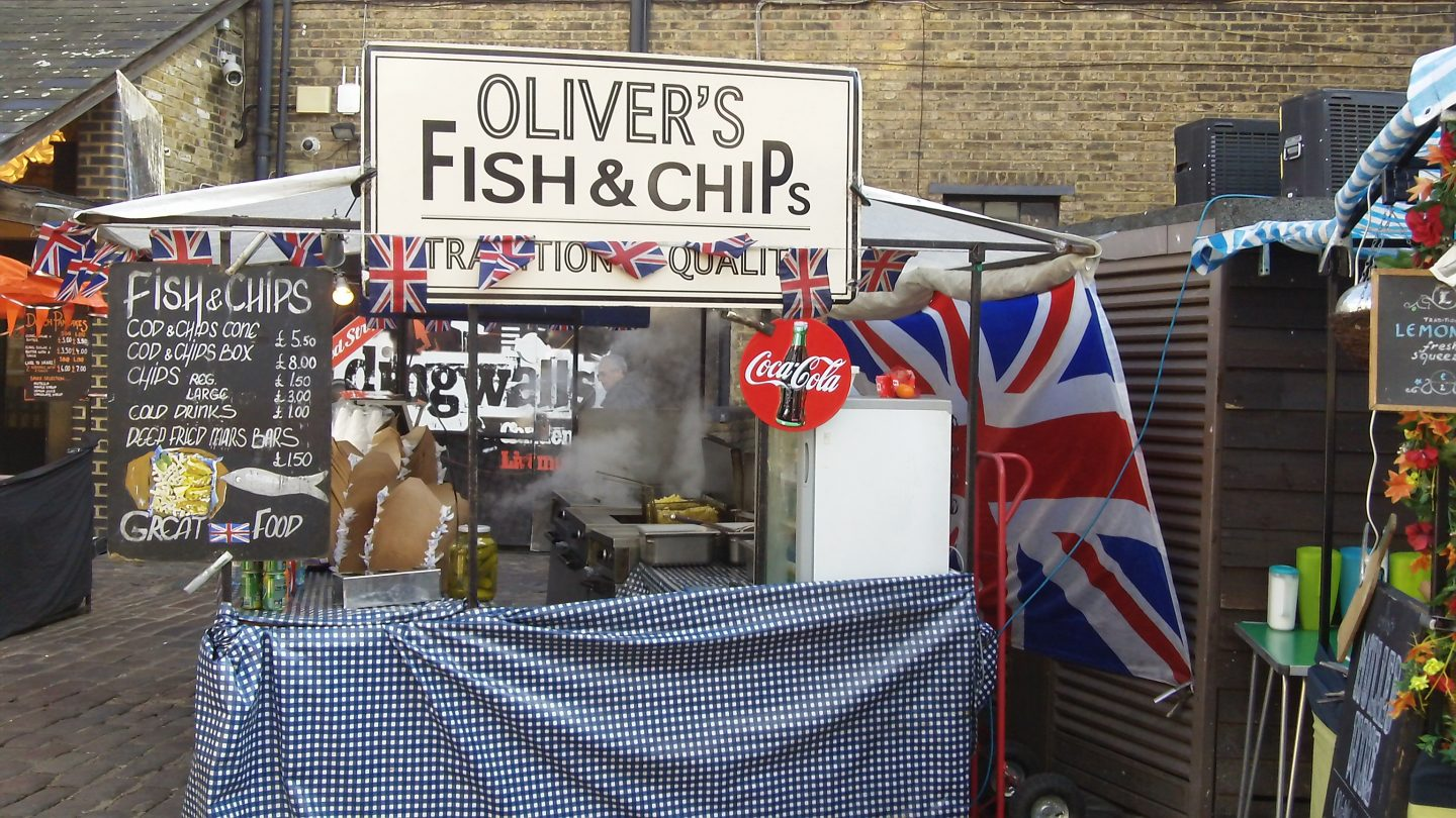 Image result for fish and chips camden