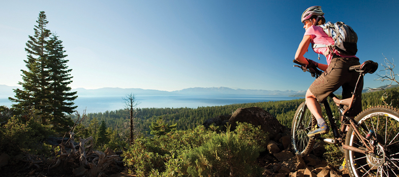 Lake Tahoe Biking Credit Jeff Dow