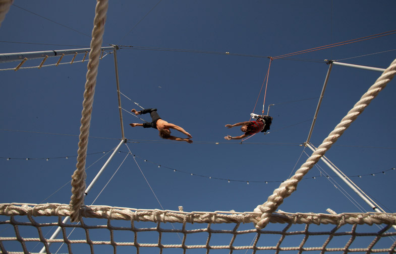 Santa Monica - Trapeze School