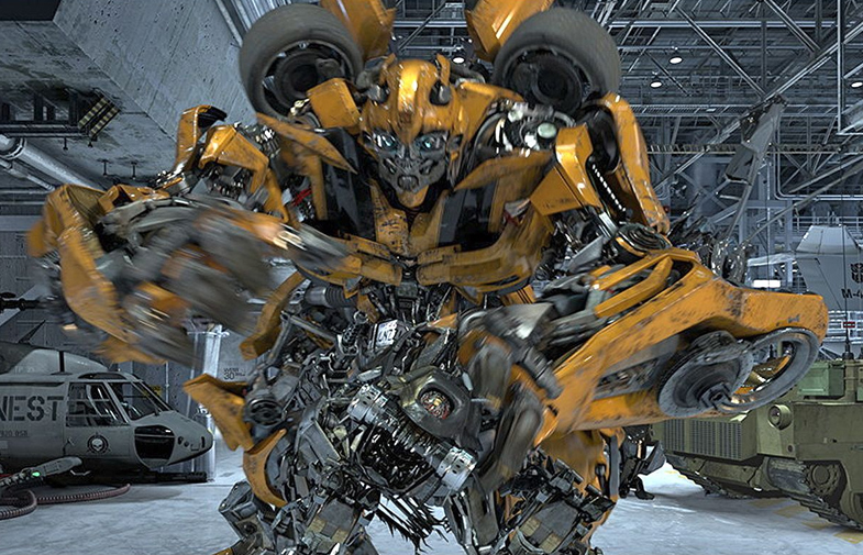 Transformers The Ride 3D Bumblebee 300