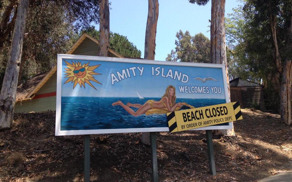 Amity Island, Universal Studios Tour