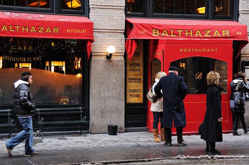 Balthazar NYC (Wikimedia Commons)