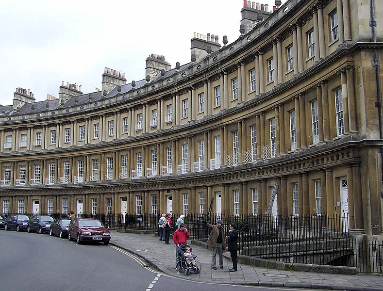 Bath, England (2) Wikimedia Commons
