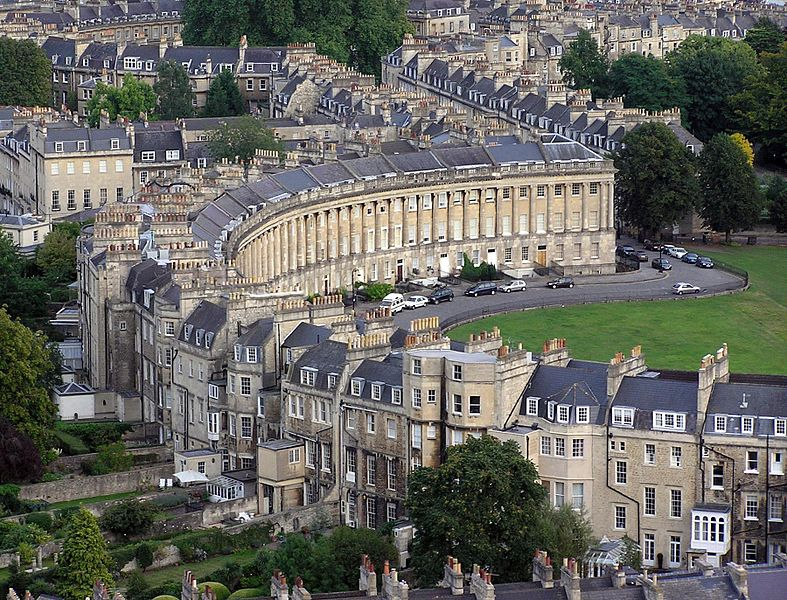 Bath, England (Wikimedia Commons)