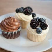 Bear Grylls Muffins at Huckleberry