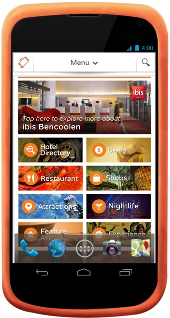 Ibis Singapore on Bencoolen handyphone