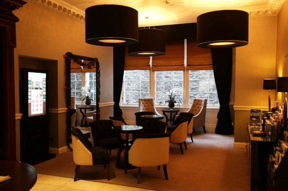 Edinburgh Luxury accommodation, Fraser Suites foyer