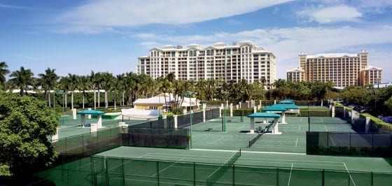 Play Tennis with Novak Djokovic, Andy Murray and Serena Williams at the Ritz-Carlton Key Biscayne, Miami