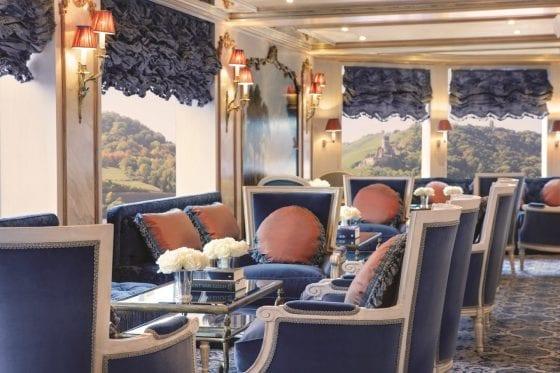 S.S. Maria Theresa's Habsburg lounge.