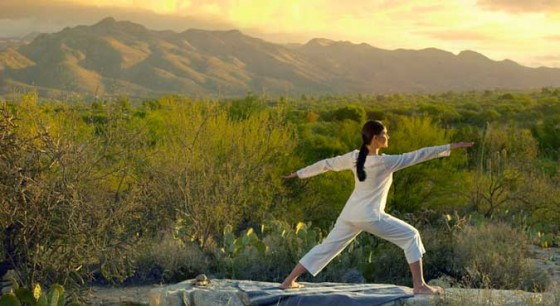 Canyon-Ranch-Tucson-Sunrise-Yoga