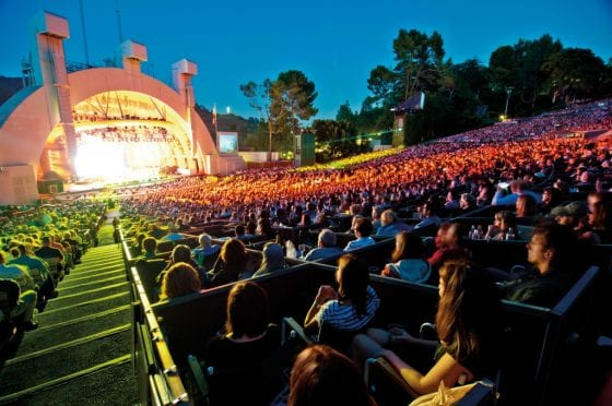 Hollywood-Bowl-Shell Courtesy of Los Angeles Philharmonic Association