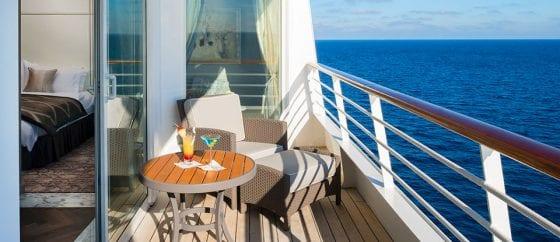 Crystal Serenity penthouse veranda