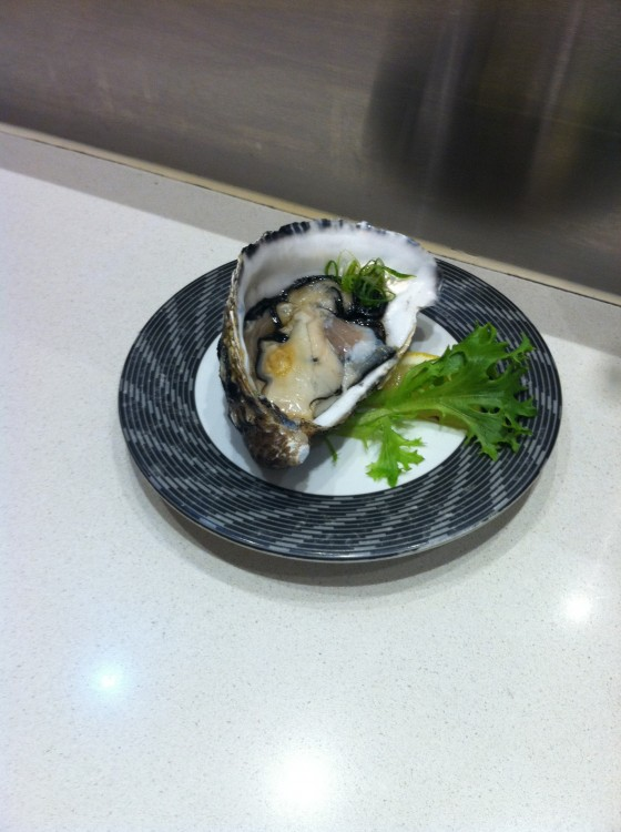 Oh yes. Go Go Sushi oysters.