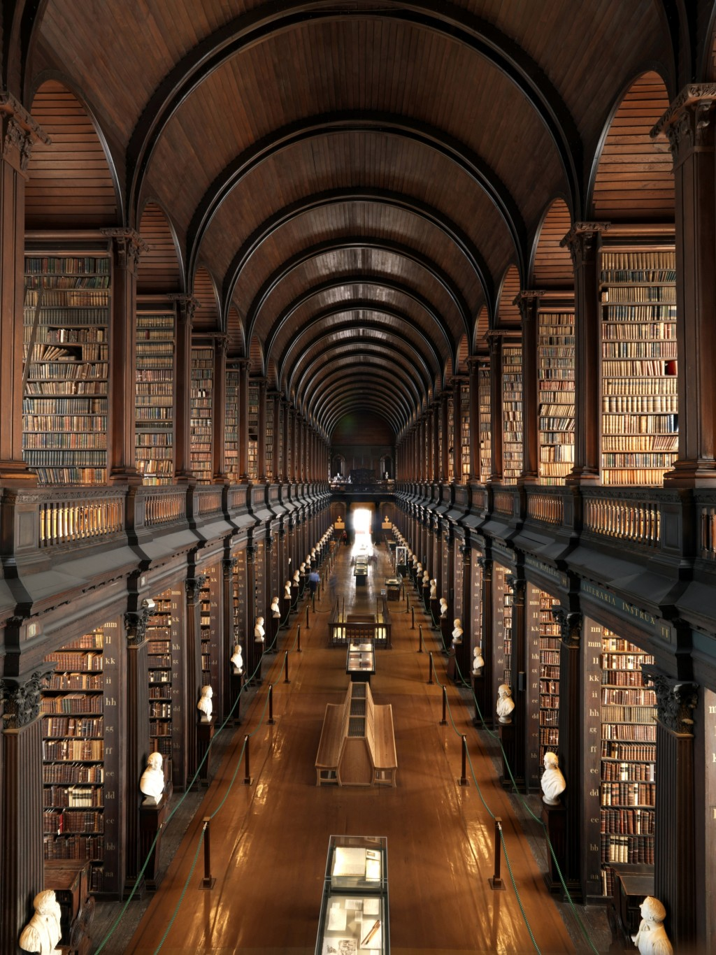 Trinity College Library (Image Courtesy of Irish Welcome Tours at Flickr)
