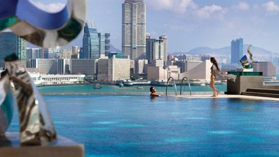 Laps and Tai Chi with a view at the Four Seasons Hong Kong