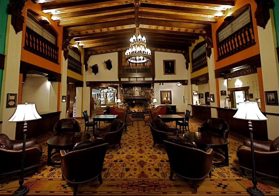 Hotel Alex Johnson Lobby
