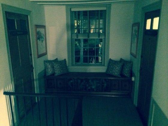 Ships Inn spooky hallway