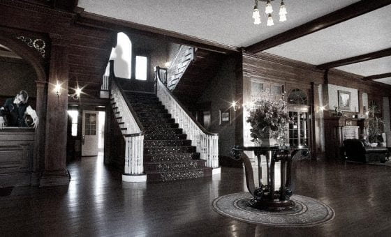 The Stanley Hotel haunted lobby