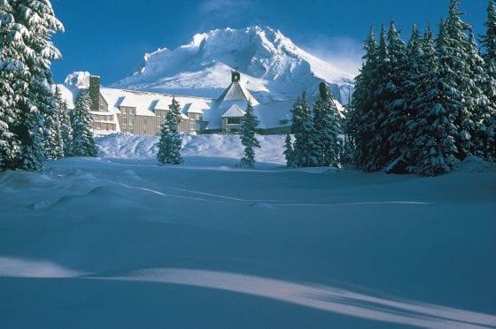 Timberline snow exterior