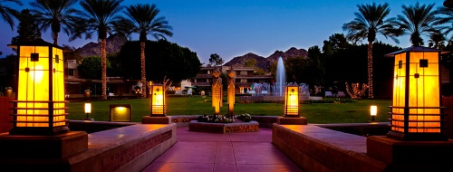 Arizona Biltmore night scene