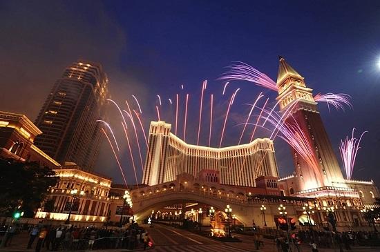 Cotai fireworks