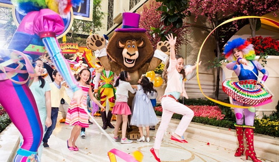 Sands Resorts DreamWorks Experience