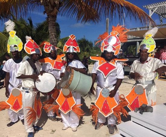 Junkanoo celebration. Photo by Vicki Arkoff